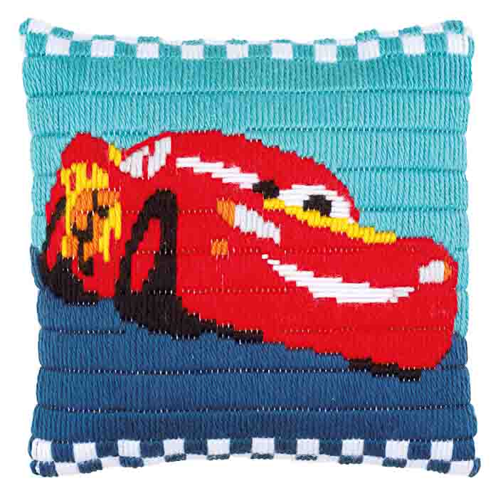 Vervaco Long Stitch Kit: Cushion: Disney: Cars | PN_0169171