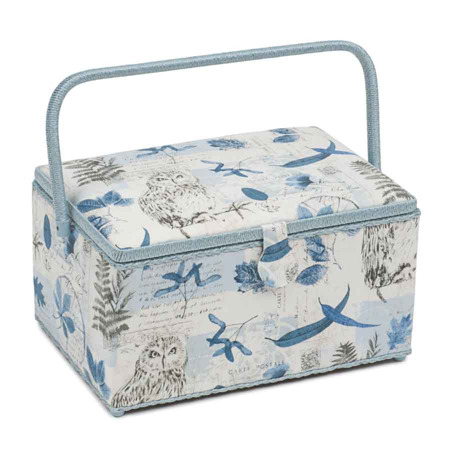 HobbyGift Classic Collection: Extra Large Sewing Box: Wise Owl | HGXL_475