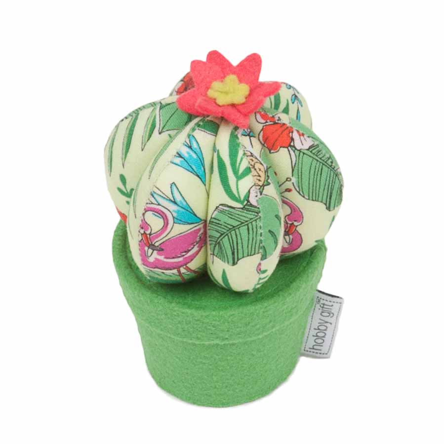 HobbyGift Classic Collection: Cactus Pin Cushion: Tropical Lime | PCC_457