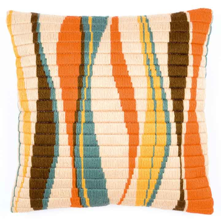 Vervaco Long Stitch Cushion - Wave
