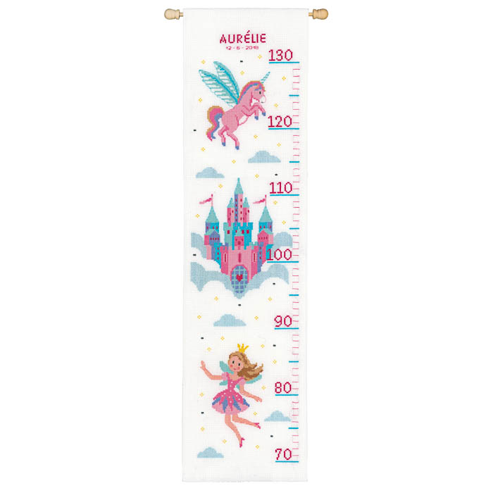 Vervaco Counted Cross Stitch Kit: Princess & Unicorn | PN_0158313