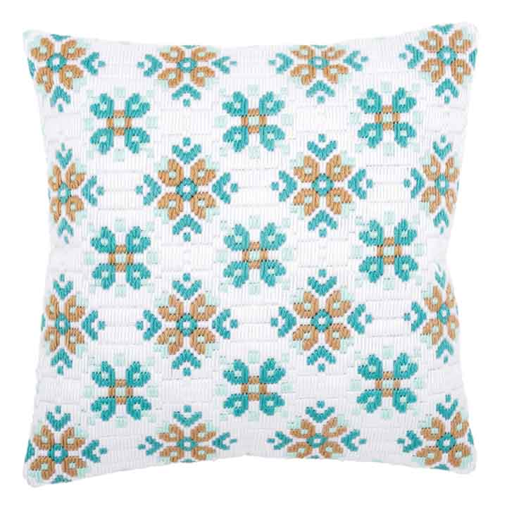 Vervaco Long Stitch Cushion: Ice Star-II