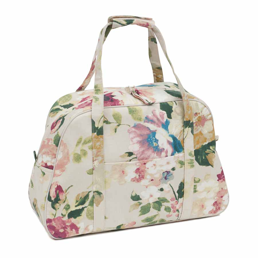 HobbyGift Premium Collection: Sewing Machine Bag: Vintage Floral | HGSWB_454