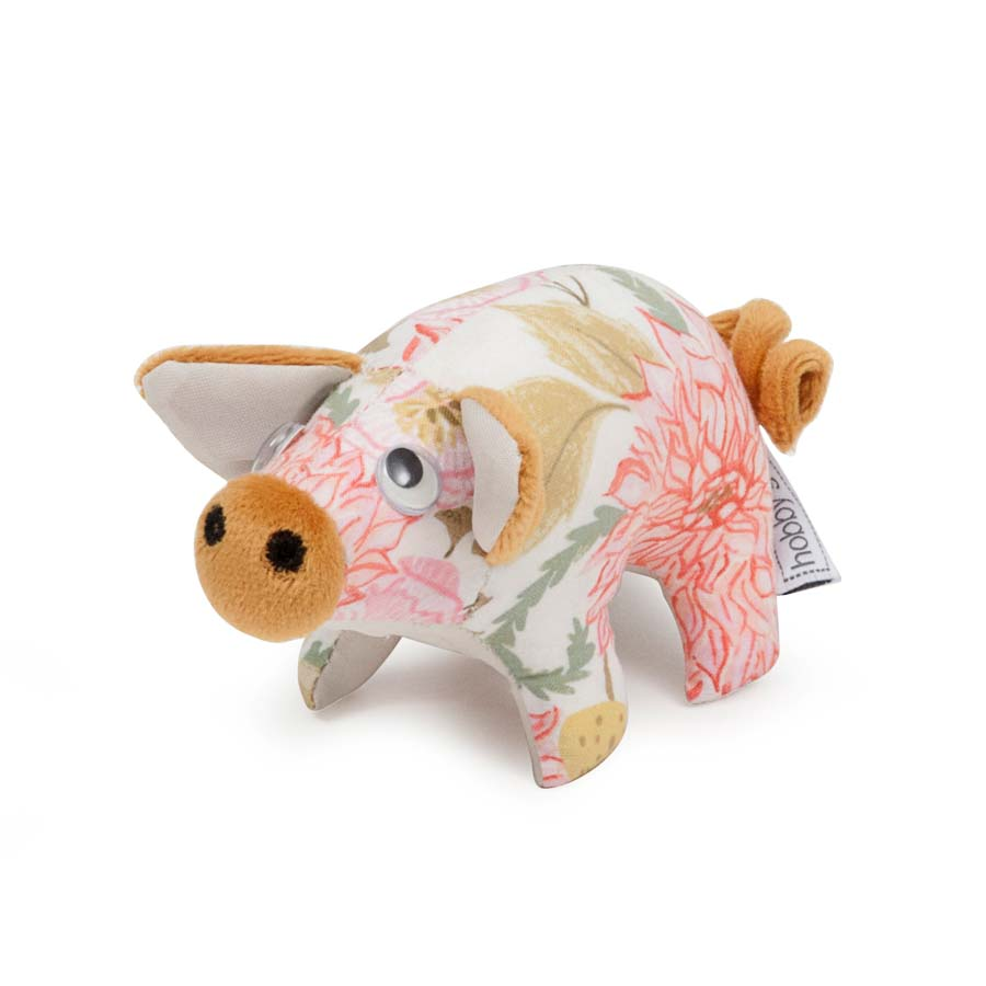 HobbyGift Classic Collection: Pig Pin Cushion: Fable Floral | PCP_472