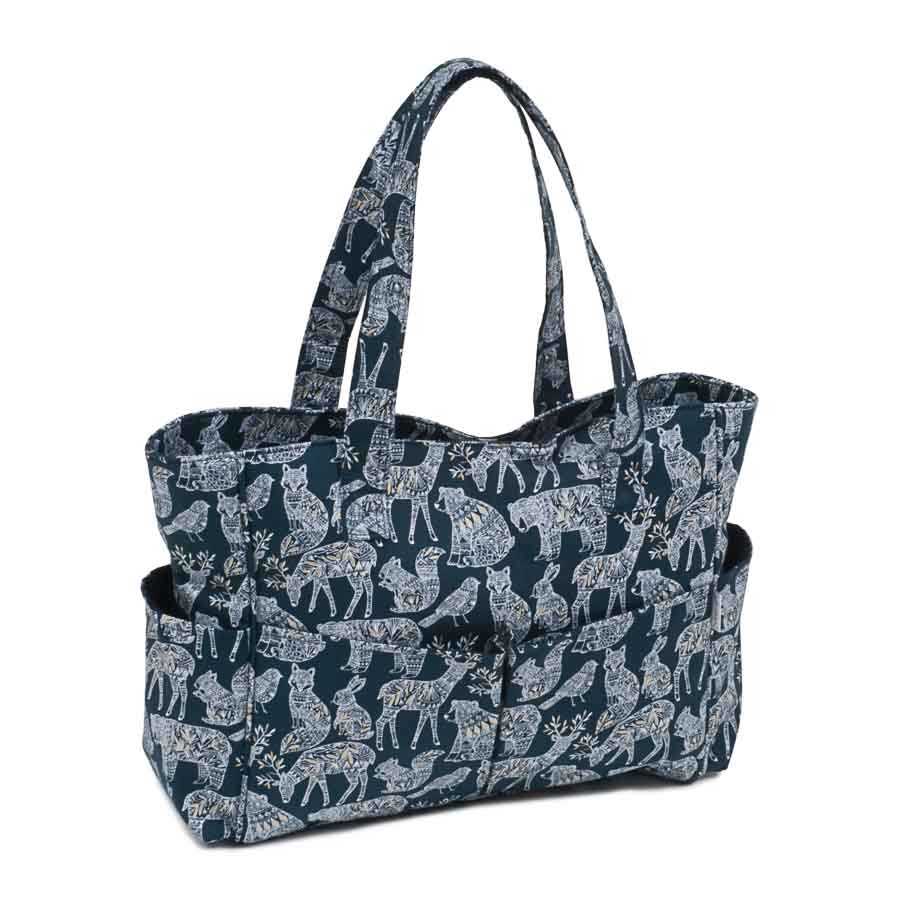 HobbyGift Premium Collection: Craft Tote Bag: Nordic Navy | MRB_448
