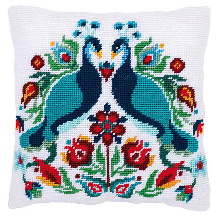 Vervaco Tapestry Kit: Cushion: Pauline | PN_0167708 Animals & Birds TK