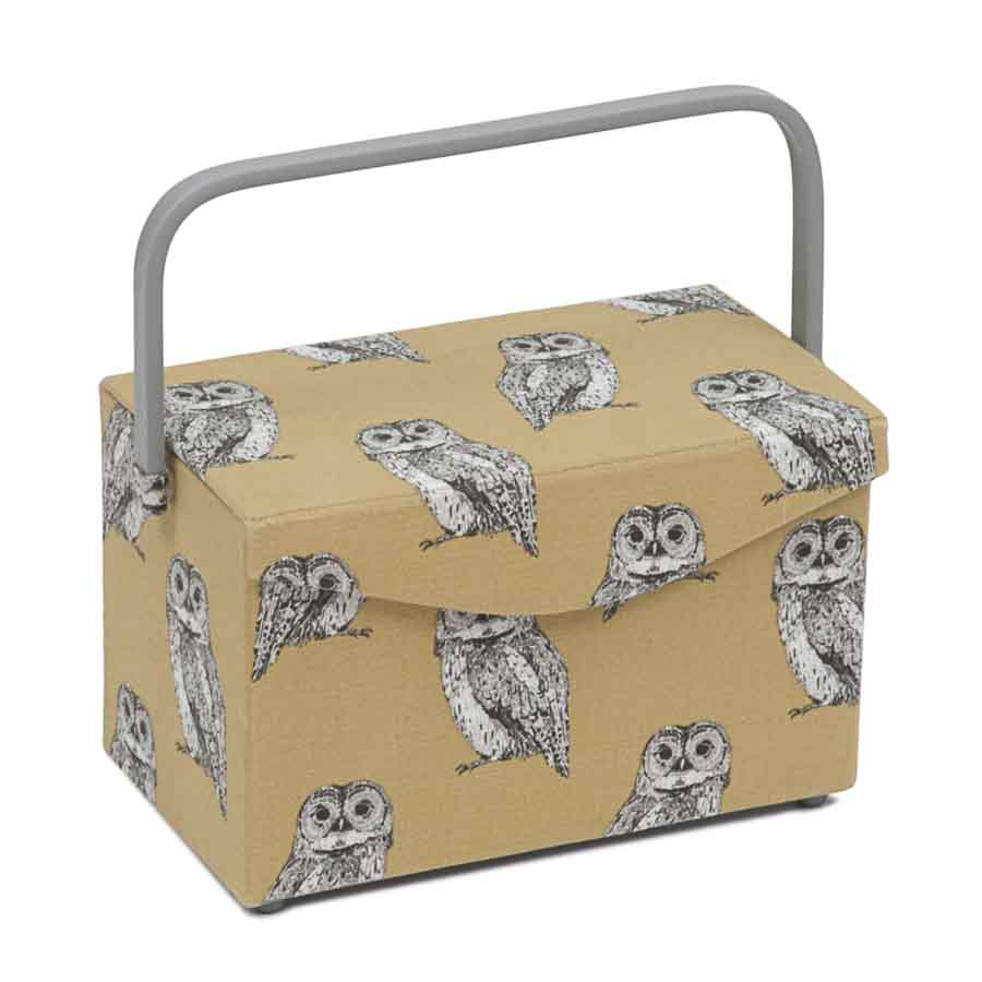 HobbyGift Premium Collection: Fold Over Sewing Box: Owlet | HGFB_452