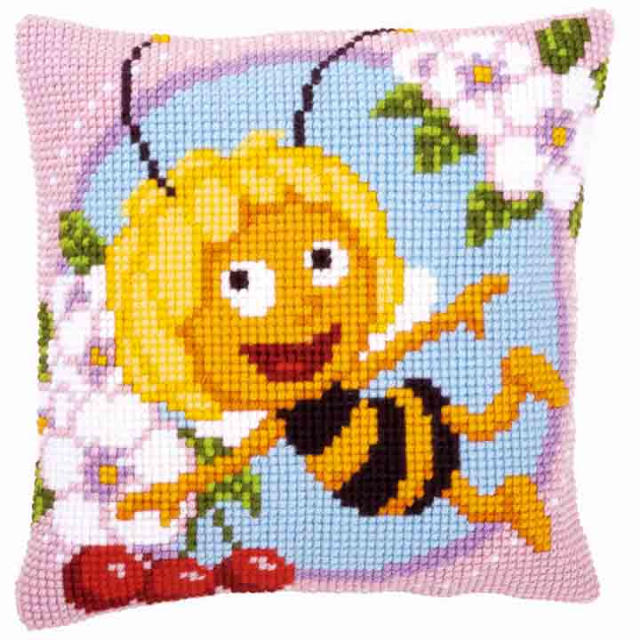 Vervaco Cross Stitch Cushion: Maya Insects & Bugs CSCK