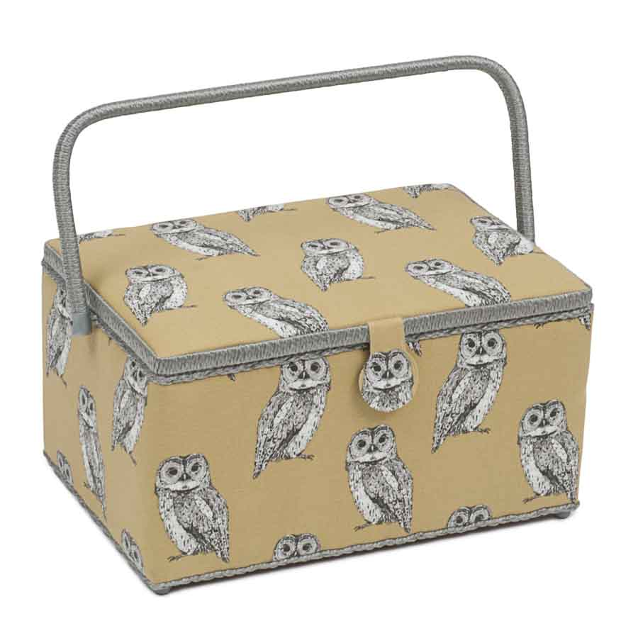HobbyGift Premium Collection: Extra Large Sewing Box: Owlet | HGXL_452