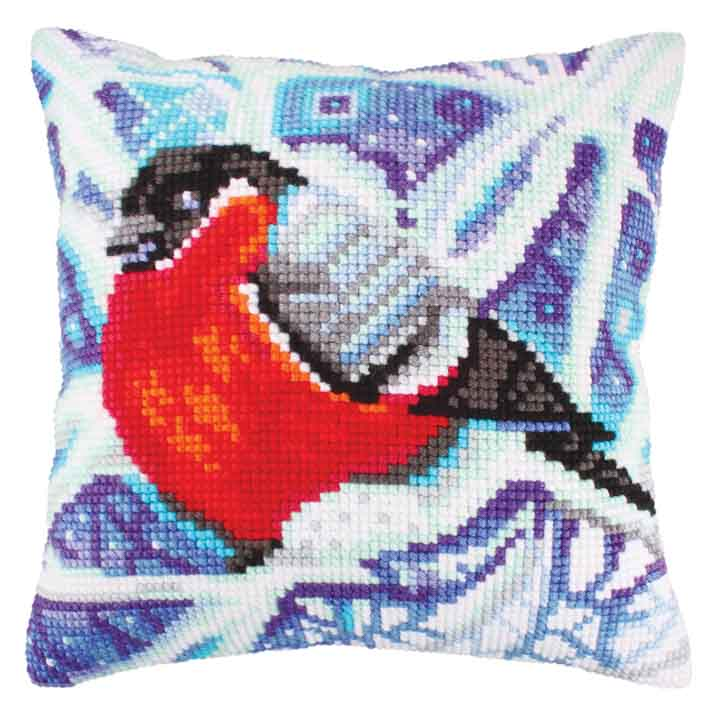 Collection D Art Cross Stitch Cushion: Winter Traceries