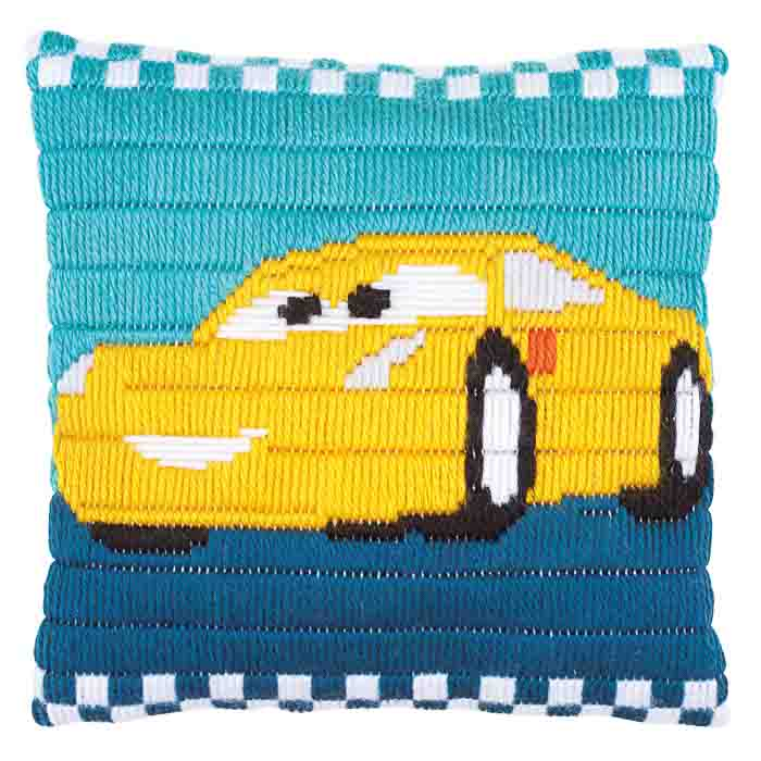 Vervaco Long Stitch Kit: Cushion: Disney: Cars Cruz | PN_0169749
