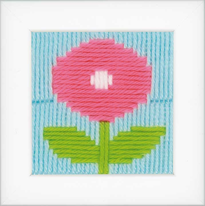 Vervaco Long Stitch Kit: Flower