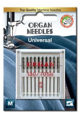 Organ Standard Sewing Needles | Size 90/14 10 Needles Per Pack