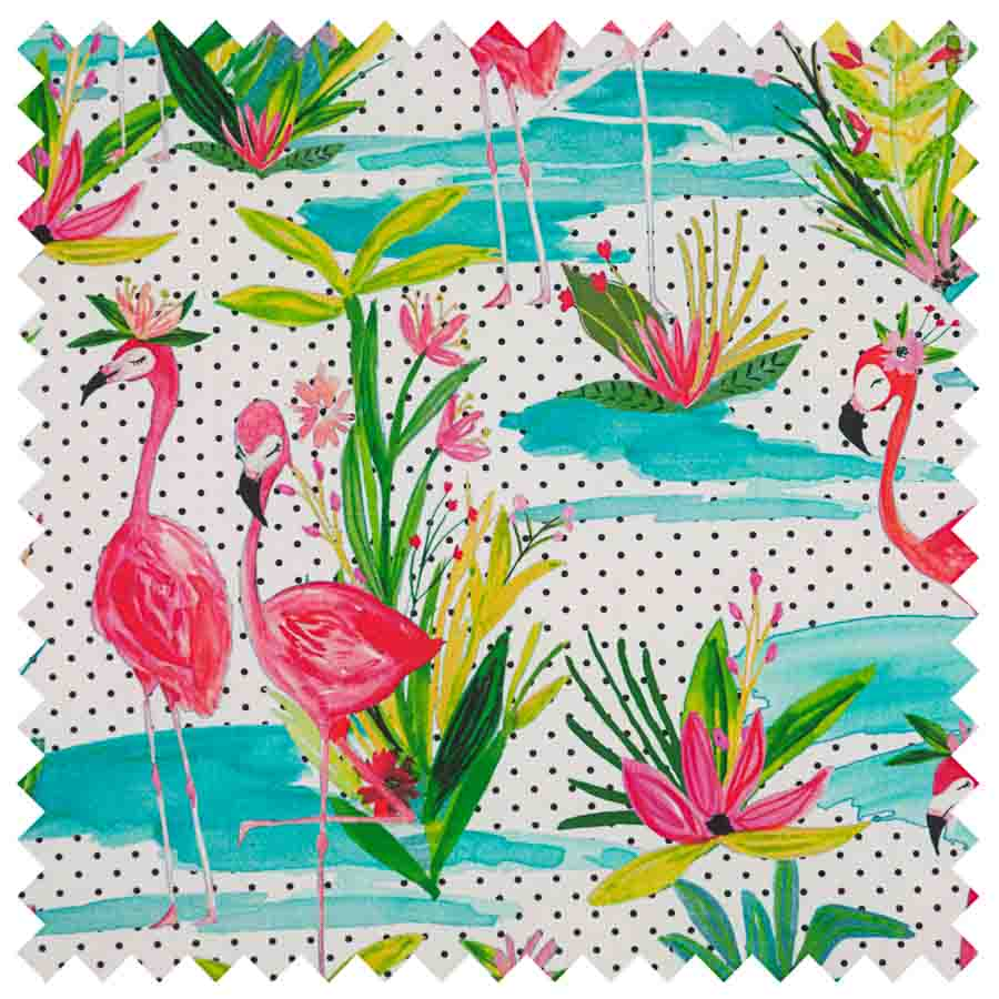 HobbyGift Sewing Box (XL): Flamingos | HGXL_324 Bird Print Sewing Box 3