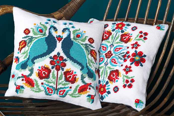 Vervaco Tapestry Kit: Cushion: Pauline | PN_0167708 Animals & Birds TK 2