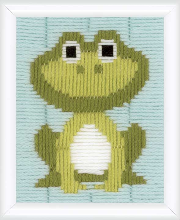 Vervaco Long Stitch Kit: Frog