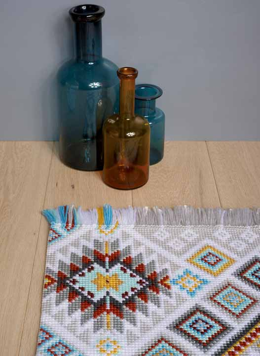 Vervaco Cross Stitch Rug: Ethnic Rugs CSK