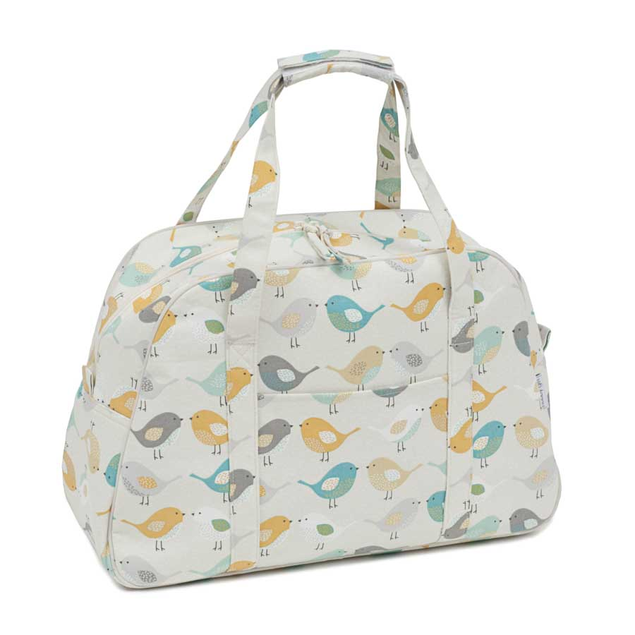 HobbyGift Premium Collection: Sewing Machine Bag: Birds | HGSWB_451