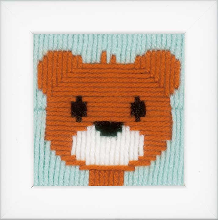 Vervaco Long Stitch Kit: Little Bear