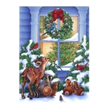 The Magic of Christmas Digital Multi Fabric Panel