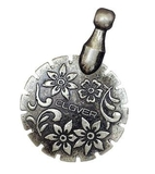 Thread Cutter Pendant Antique Silver