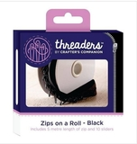 Threaders Zips on a Roll - Black