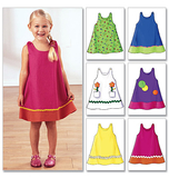 Toddlers and Childrens Dress Size 1, 2, 3