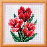 Tulip Cross Stitch Kit