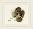 Vervaco Counted Cross Stitch Kit: Birth Record: First Shoes | PN_0164620 Birth Records CSK