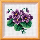 Viola Cross Stitch Kit