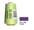 Violet Overlocking Thread 3000m
