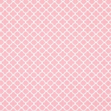 White Cross on Pink 1 Metre Fabric