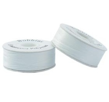 White Pre Wound Bobbin Thread 1pk