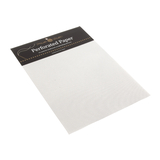 White Perforated Paper 9 x 12 Inches