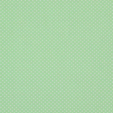White Polka Dots on Green 1 Metre Fabric