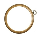 Wood Grain Flexi Hoop 4 Inch