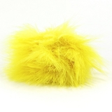Yellow Marabou Feathers 20pk