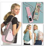 Young Adult Backpacks and Mp3 Player Cover One Size